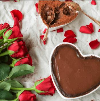 לבבות קראנץ שוקולד ליום האהבה