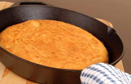 """לחם """"תירס"""" מושלם וקל להכנה- ללא גלוטן, טבעוני"""